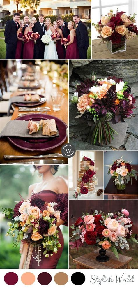 5 Wedding Color Ideas by 2983 Best Images About Burgundy Cranberry Maroon