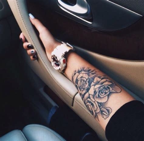 tattoo on arm girly arm tattoo rose tattoo rose arm tattoo girly tattoos