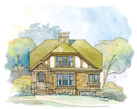 house plan thursday sweet cottage artfoodhome com eplans tudor house plan sweet tudor cottage 1319