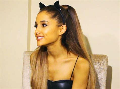 why ariana grande wears cat ears ariana grande breaks silence on big sean romance rumours