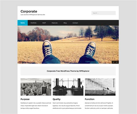 wordpress theme free company website best free wordpress themes for 2018 wpexplorer
