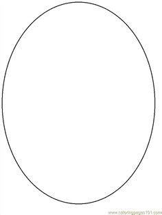 oval face shapes coloring page oval pattern use the printable outline for crafts