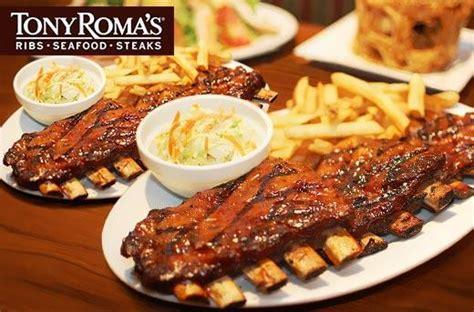 tony romas plateful  spare ribs promo  branches