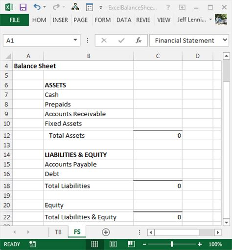 Create A Balance Sheet With Excel Excel University Construction Balance Sheet Template Excel