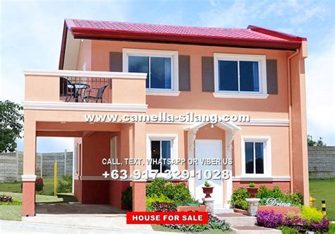camella silang house and lot near tagaytay city camella silang tagaytay drina house and lot for sale in