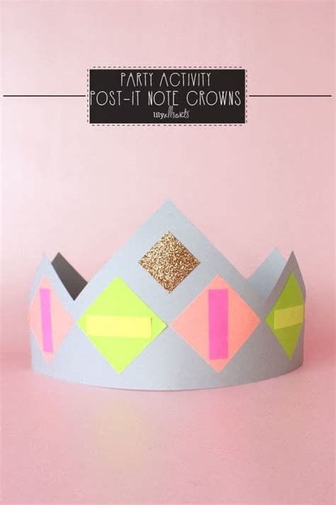 How To Make A Paper Crown Tiara - paper crown activity 183 how to make a tiara crown