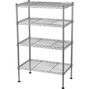 wire shelves walmart rack 20 quot w x 12 quot d x 32 quot h four level wire shelving