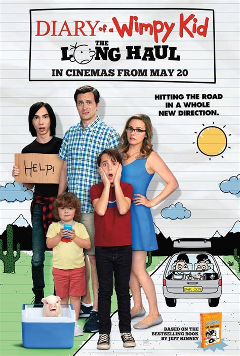 the diary of a diary of a wimpy kid the long haul book tickets at cineworld cinemas