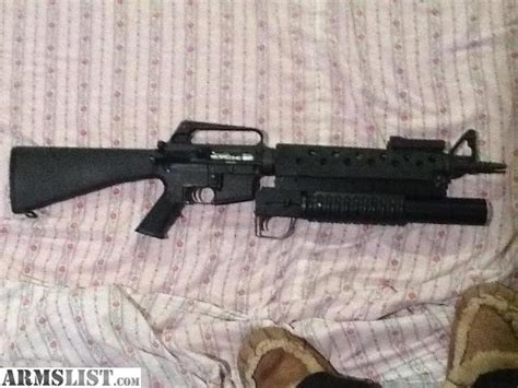 kaos navy seals ar by araysel armslist for sale ar15 w m203 launcher 37mm non rifled