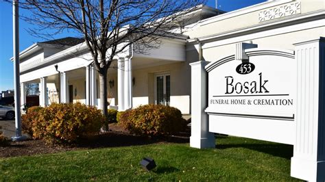 bosak funeral home funeral services cemeteries 453