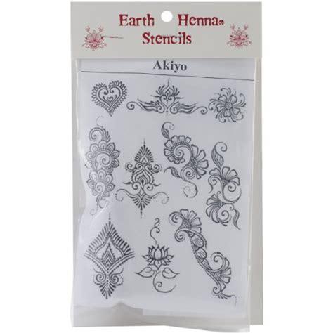 ak henna design gallery earth henna spls ak stencil transfer pack akyio henna designs