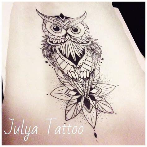 tattoo mandala owl 17 best geometric owl tattoo outline images on pinterest
