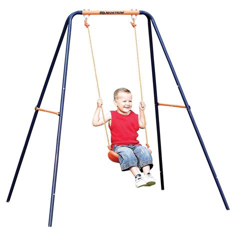 Choose From Kids Hedstrom Folding Single 2 In 1 Swing