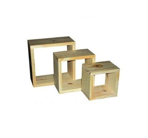 Wood Cube Shelf by Wood Wooden Wall Cubes Cube Shelf Shelves Set Of 3