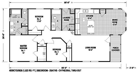 flooring plans new manufactured home floorplans