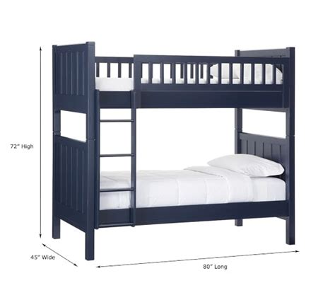 pottery barn loft bed with c twin over twin bunk bed pottery barn kids