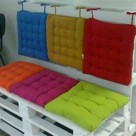 almofada futon 40x40 almofadas colorida para assento cadeira em futton 40cm x