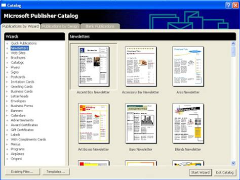 ms publisher templates christian brochures party