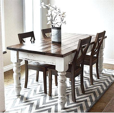 Lovely Thin Dining Room Tables #5: Country-kitchen-dining-room-sets-style-table-chairs-farmhouse-design.jpg