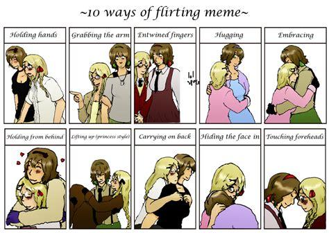 Meme Ge - ways of flirting meme belgmona by keijuko ge on deviantart