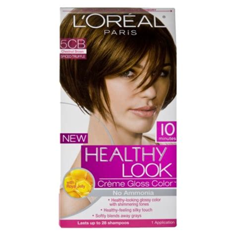 im looking for hair dyes that match loreals healthy hair sweet cherry free box of healthy look creme hair color from l oreal