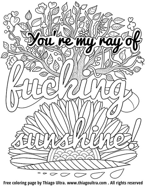 swear word coloring book for adults zero f cks given an irreverent hilarious antistress sweary colouring gift featuring modern mindful meditation stress relief books swearing coloring page thiago ultra