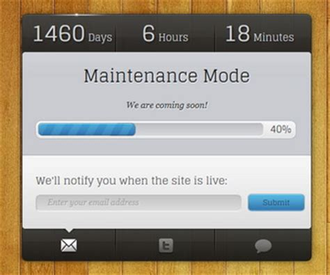 maintenance mode blogger template newbloggerthemes com