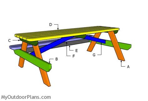 how to build a 8 ft picnic table build 8 picnic table brokeasshome com