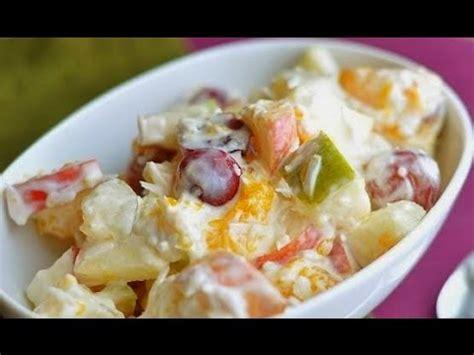 cara membuat salad buah manado cara membuat salad jelly youtube