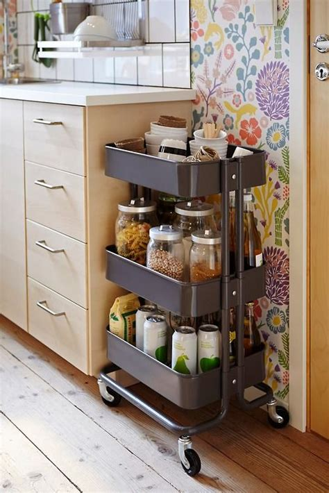 raskog cart ideas 25 utility carts in interior designs messagenote