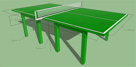Meja Tenis Meja S sketsa sederhana olahraga