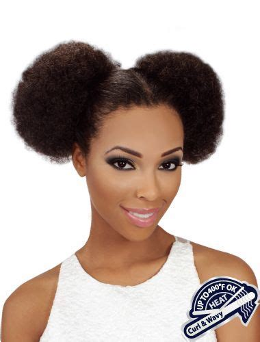 puffed up ponytail eve heat resistant afro puff ponytail wigz4lessonline com