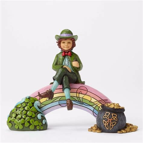 jim shore lucky you leprechaun figurine by jim shore 4051397