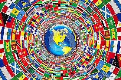 Teh Celup Bendera bandiere mondo fotografie stock immagine 30197583