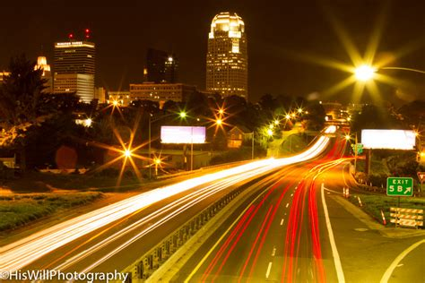 best lights near winston salem winston salem city lights hiswillphotography