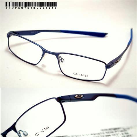 Lensa Minus Lensa Eyewear Kacamata Minus Lensa Blue Z9xq jual frame kacamata oakley titanium pewter blue snick o