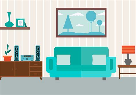 Living Room Vector Images Free Vector Livingroom Free Vector Stock