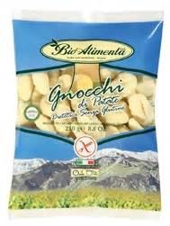 gluten free shelf stable potato gnocchi export typical