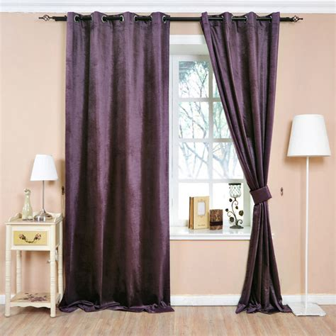 purple bedroom curtains aubergine purple cotton canvas eyelet lined curtain purple