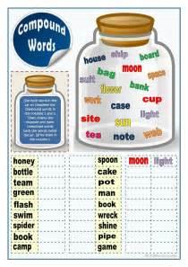 compound words 2 worksheet free esl printable worksheets