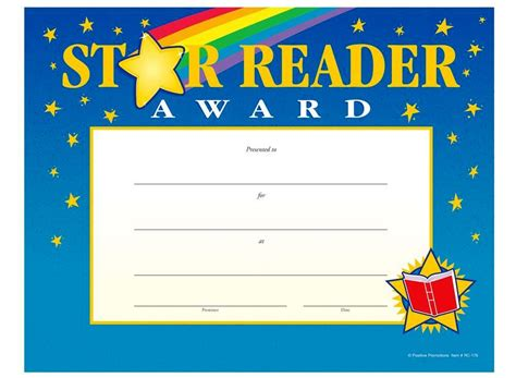 printable star reader certificates star reading certificate template professional and high