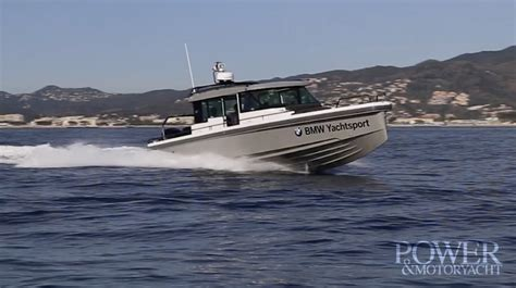 boat test video boat test axopar 37 sport cabin power motoryacht