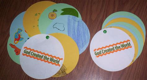 creation craft for craft acacia in the desert church preschool