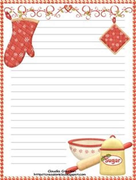 free printable recipe card borders 1000 images about recipe scrapbooking printables and