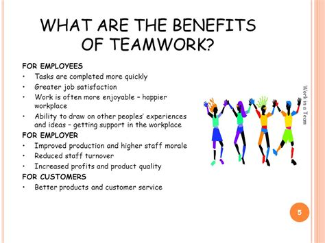 Benefits Of Building High Quality Effective Teamwork Team Building Ppt