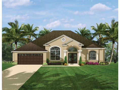 mediterranean narrow house 2 3 not so big house eplans mediterranean modern house plan comfortable open