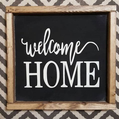 17 best ideas about welcome home signs on home