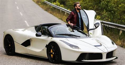 banc aperta josh cartu s white laferrari aperta is simply breathtaking