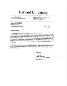 Resignation Letter Format Government Marc Hauser Resigns From Harvard 171 Why Evolution Is True