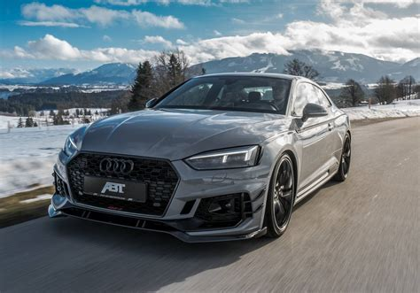 Audi Rs5 Abt by Official Abt Audi Rs5 R With 530hp Limited To 50 Units